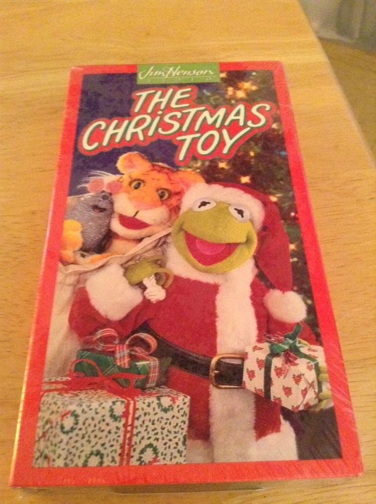 Jim henson muppets the christmas toy dvd - Christmas card 2018
