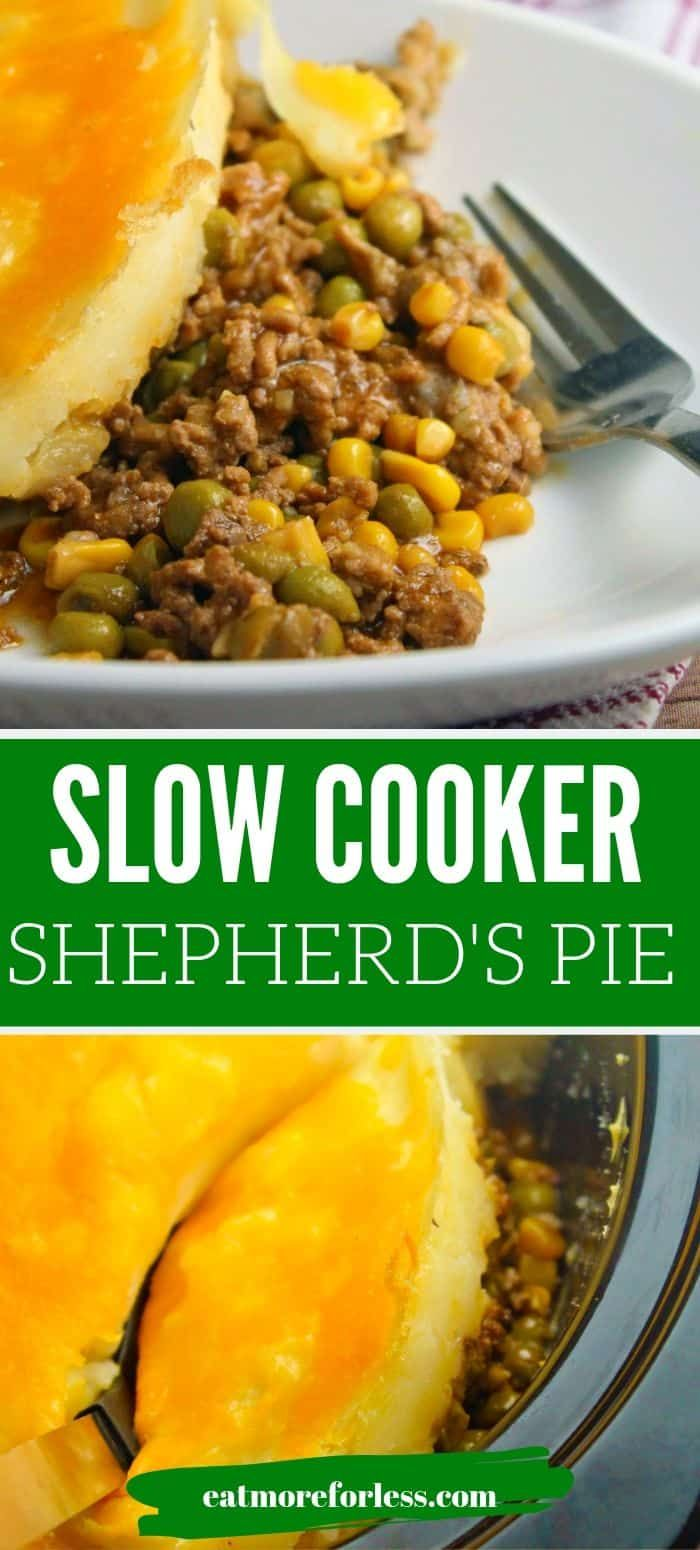 Slow Cooker Shepherd S Pie Easy Shepherd S Pie Recipe Recipe In 2020 Slow Cooker Shepards Pie Shepherds Pie Shepherds Pie Recipe