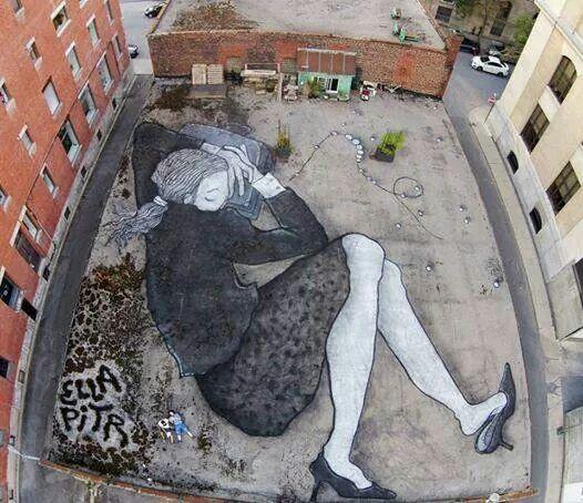 Massive ground art