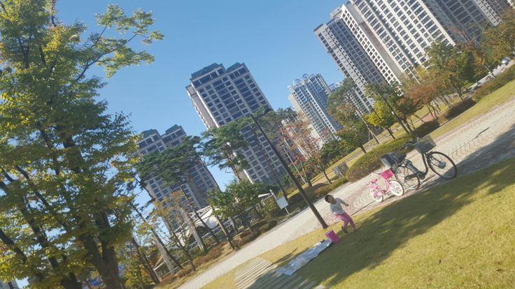 Apartment in Seoul.