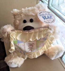 "$8.99 Peek A Boo Animated 10"" Talking Teddy Bear Electronic Motion Plush Baby Toy NWT!  | eBay"