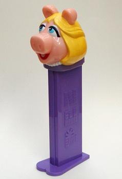 Giant Ms Piggy PEZ Candy Roll Dispenser