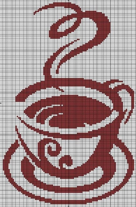169 Best Images About Cross Stitch Cupcakes Amp Coffee On