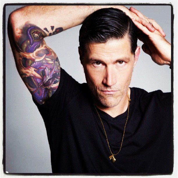 best 25 matthew fox tattoos ideas on pinterest fox tattoo fox tattoos and tree tattoos. Black Bedroom Furniture Sets. Home Design Ideas