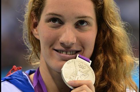 Camille Muffat/Médaille d'Argent Natation 200m Nage Libre