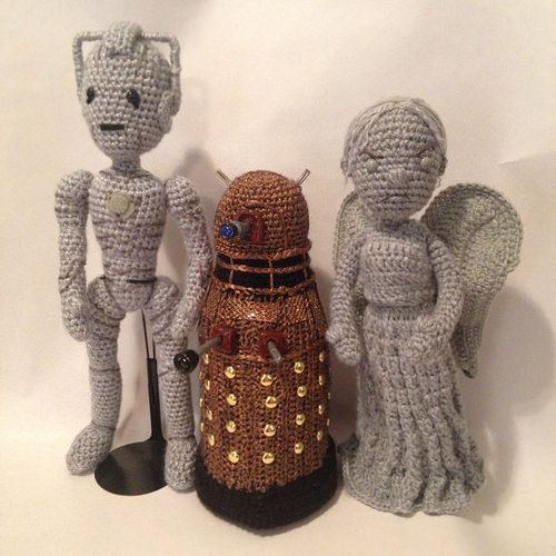 Amigurumi Weeping Angel Pattern : 17 Best images about Killer Kitsch Doctor Who on Pinterest ...
