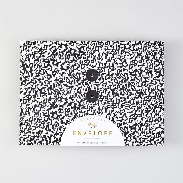 Folder Envelope : Black & White - Baltic Club www.thebalticclub.com
