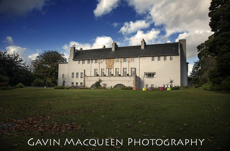 House for an Art Lover, Glasgow, one of Scotland's leading and most unique wedding venues.  Photograph by Gavin Macqueen.