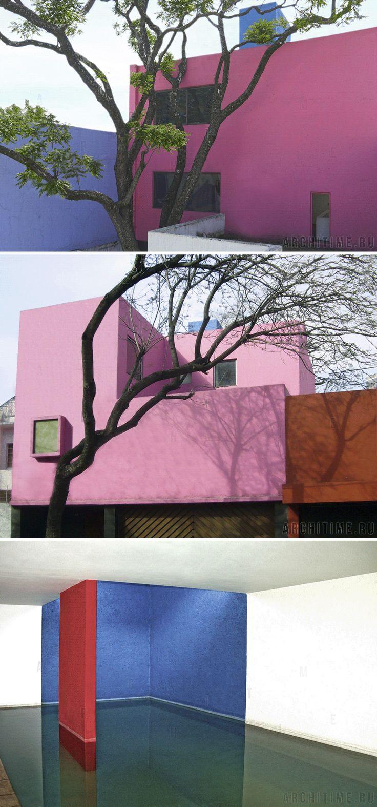 Дом Жиларди (Casa Gilardi). Мехико, Мексика  (1975-1977 гг.)