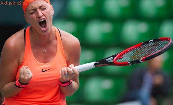 French Open: Zwycięski powrót Kvitovej po zranieniu w napadzie