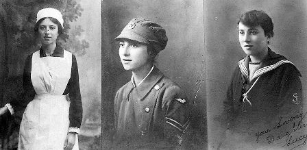 THREE FACES OF WAR: She wore three different uniforms in one war. Lucy Nellie Gertrude Harris, from Worthing, served in the First World War as a nurse, a Wren, then as one of the first members of the Women's Royal Air Force. During World War Two, she helped by carrying out unofficial policing duties