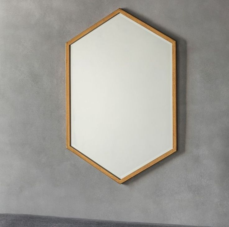 Gallery Direct Helston Antique Gold Mirror