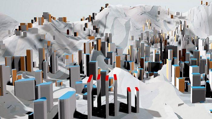 Google a Serpentine převedli obrazy od Hadid do virtuální reality