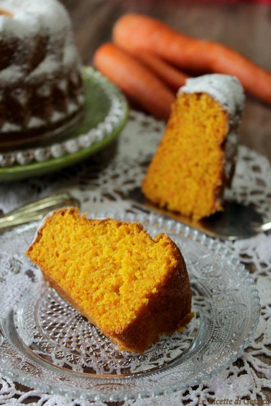 torta alla carota bimby