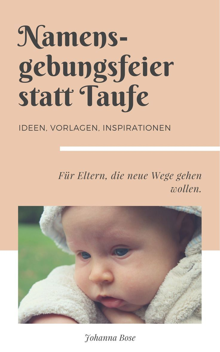 Namensgebungsfeier Fürs Baby So Sieht Eine Schöne Idee Als