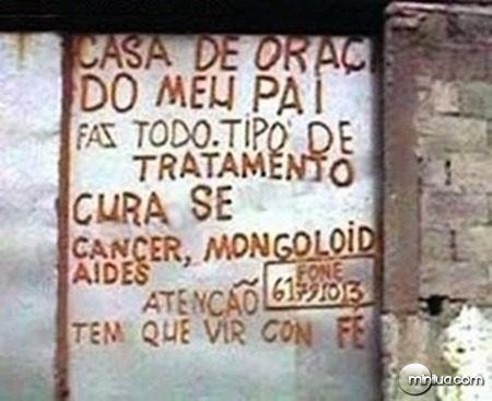 placa ridicula
