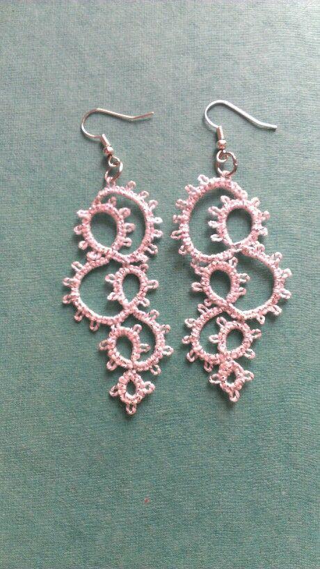 Earrings made
