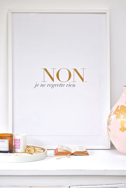 1000 ideas about no regrets tattoo on pinterest french for What does regrets only mean