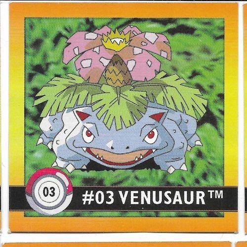 Pokemon Square sticker Venusaur