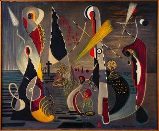 Juanita Guccione, Europa, 1939 (A Driveable Feast: Surrealist Women In Wonderland at LACMA)