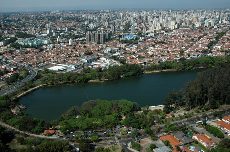 Lagoa do Taquaral - Campinas - SP - Brazil