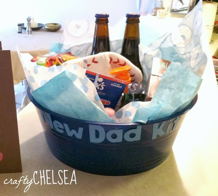 Baby Shower Gift Ideas Dad : Best new dad basket ideas on gifts for