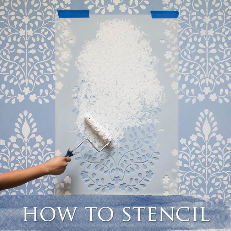 Wall Stencils, Wall Decals, Custom Vinyl Stencils, Wallpaper, Supplies