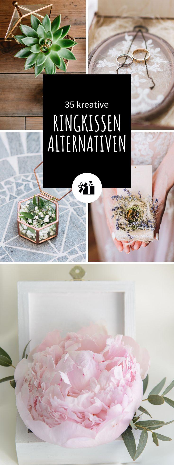 35 kreative Ringkissen-Alternativen
