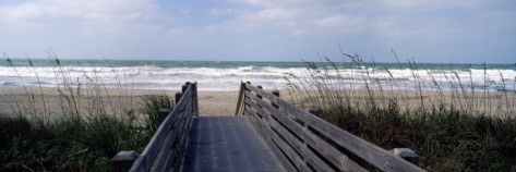 Boardwalk on the Beach, Nokomis, Sarasota County, Florida, USA Photographic Print by Panoramic Images - AllPosters.co.uk
