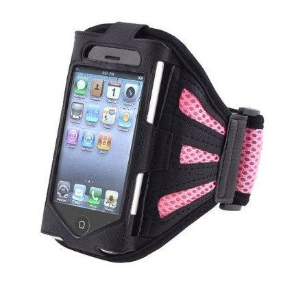 TOOGOO PINK SPORT GRM ARMBAND CASE COVER Compatible With iPhone 3GS 4G iPhone 4S - AT&T, Sprint, Version 16GB 32GB 64GB. PINK ARMBAND CASE. SPORT ARMBAND CASE. ARMBAND CASE. SPORT CASE. CASE.