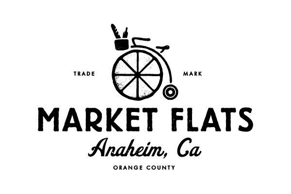 market flats #logo #design