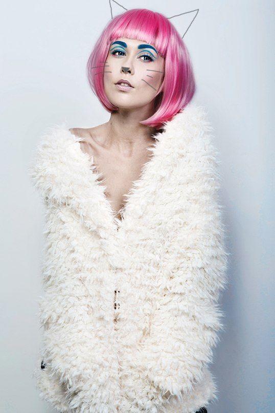 Ph: Anton Mokkas Makeup Artist: Lada Svetikova Hair Stylist: Lyudmila Chernova  #model #modelshoot #portfolio #fashion #inspiration #make_up #photoshoot #style #stylist #model_portfolio #stylist #fashion_design #MUA #MUAH #pink_wig #wig