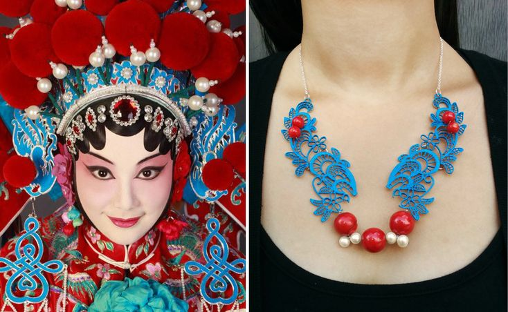 A piece inspired by the extravagant Chinese Cantonese Opera.  It is really empowering to dive into different cultures, there's always something new to learn from them.