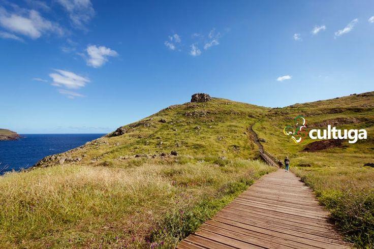 Vereda da Ponta de São Lourenço, na Ilha da Madeira. Percurso pedestre.