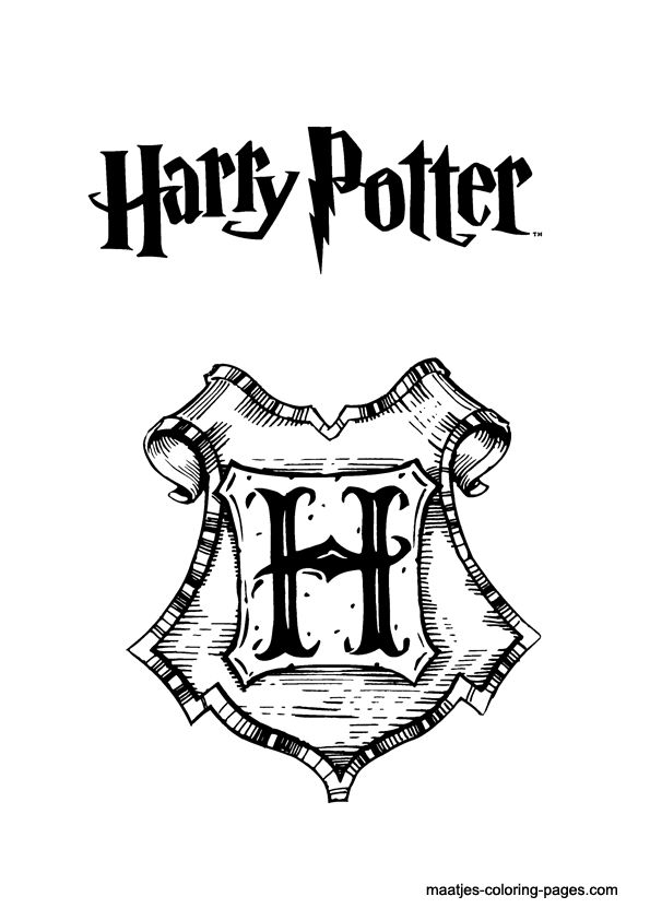 29 Best Harry Potter Colouring Pagesstencils Images On Pinterest - harry potter coloring pages online