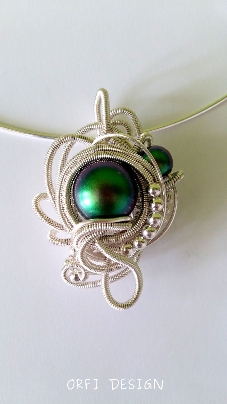 Pearls and wire work