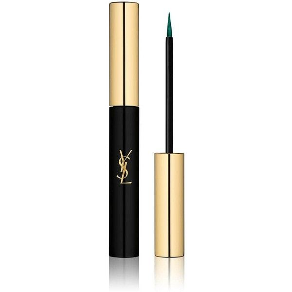 Yves Saint Laurent Beauty Women's Couture Eye Liner ($34) ❤ liked on Polyvore featuring beauty products, makeup, eye makeup, eyeliner, green, yves saint laurent, liquid eyeliner, smudge proof eyeliner, yves saint laurent eyeliner and liquid eye-liner
