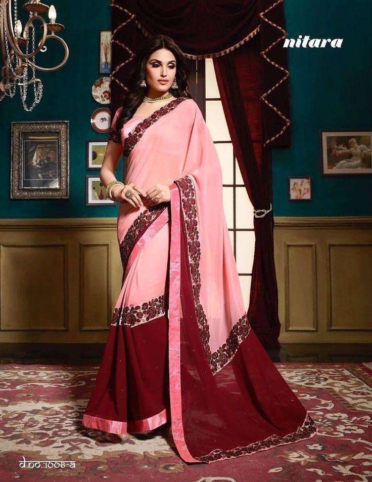 Mejores 1776 imágenes de sarees en Pinterest   Saris de seda, Saris ...