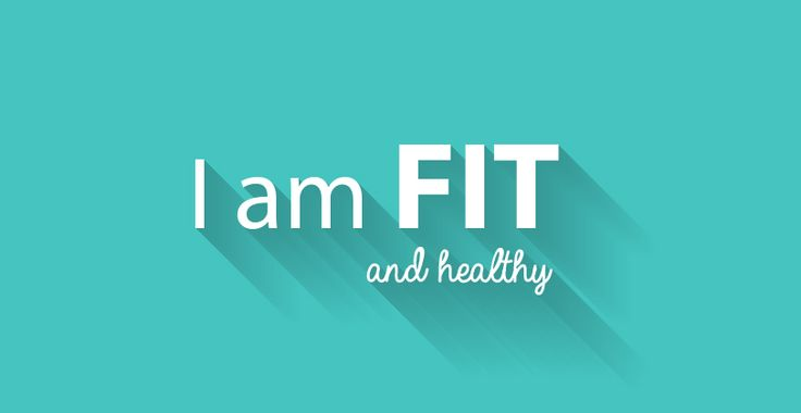 I am fit & healthy! #positivethoughts #affirmations