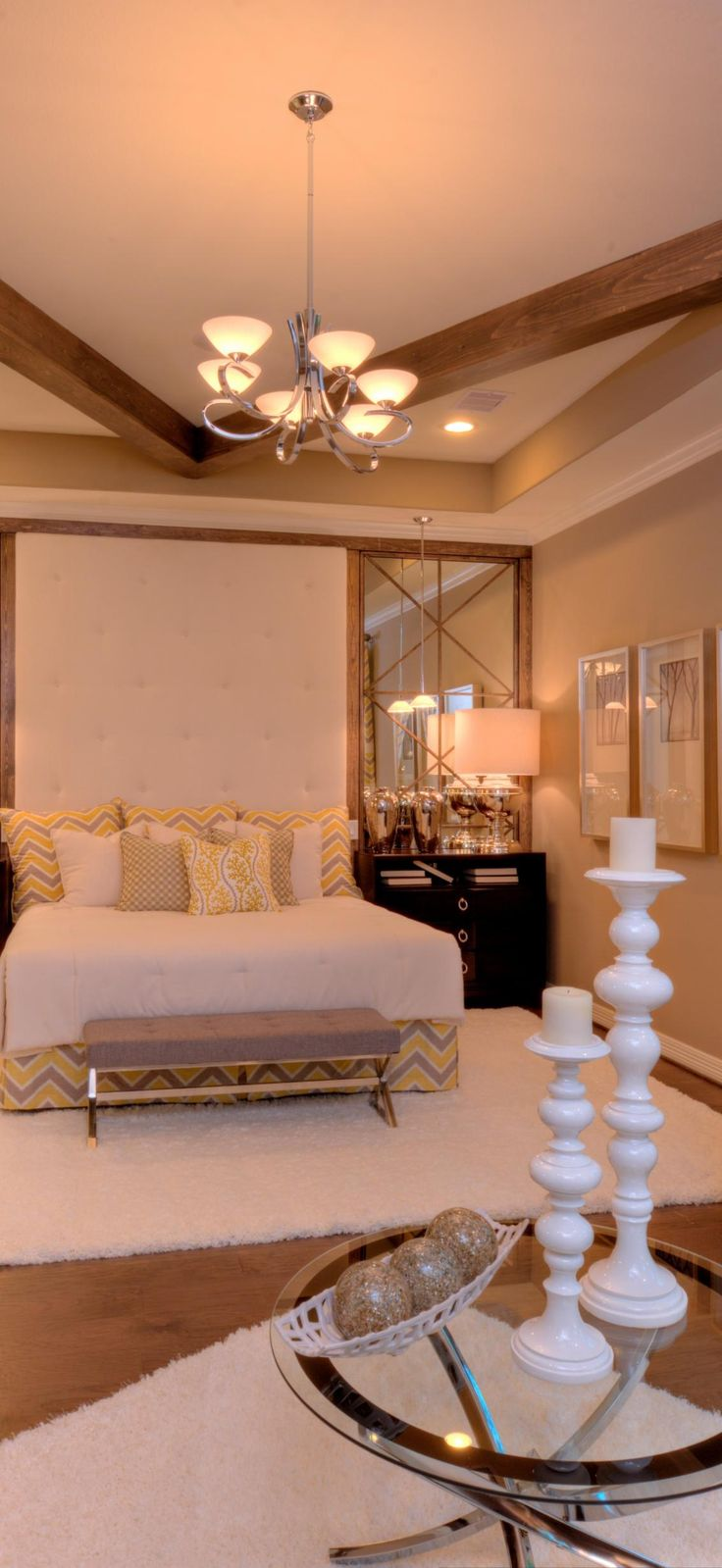 Enjoy your very own extensive master bedroom