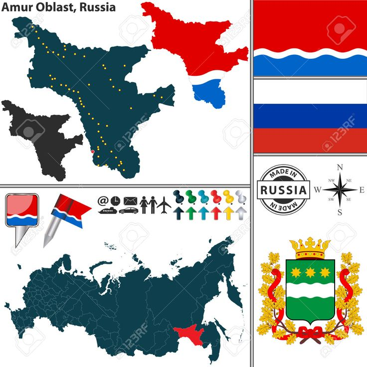 Les Meilleures Images Du Tableau Maps Of Russia Sur Pinterest - Russia location