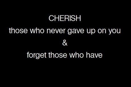 """cher·ish/ˈCHeriSH/ Verb:  Protect and care for (someone) lovingly: """"he cherished me in his heart"""".  Hold (something) dear."""