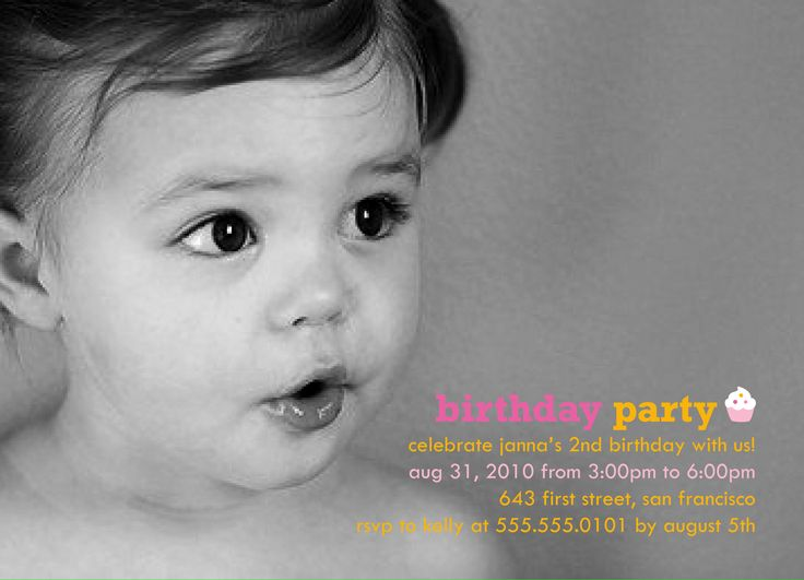10 best birthday invitations inspirations images on Pinterest - first birthday invitation templates free