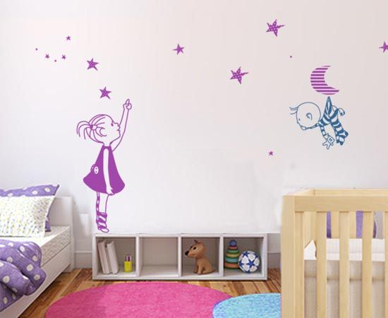 17 mejores ideas sobre habitaciones ni a en pinterest for Vinilo habitacion nina