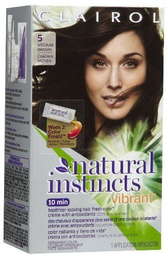 Clairol Natural Instincts Vibrant -5 Coffee Boost / Medium Brown (Pack of 2) *** Visit the image link more details. (This is an affiliate link and I receive a commission for the sales)