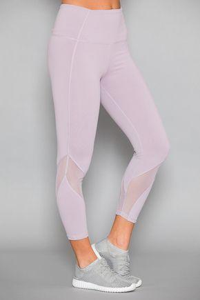 51c5aa9aa2287 Midday Mood Athletic Capris Lavender   Yoga pants   Workout pants ...