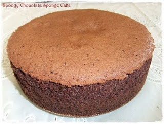 Spongy Chocolate Sponge Cake Recipe (Tested & Tasted)