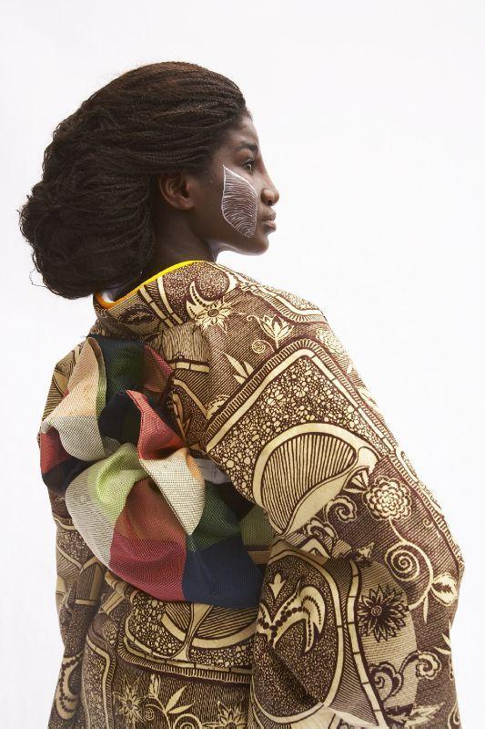 Dans le wax africain, Serge Mouangue, designer d'origine camerounaise installé à Tokyo