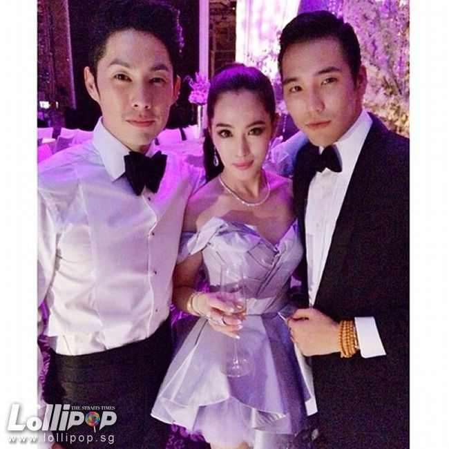 Vanness Wu And Arissa Cheo S Wedding In Singapore Taiwanese Celebs Pinterest Fashion Mens