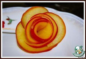 """Яблочные """"розы"""""""